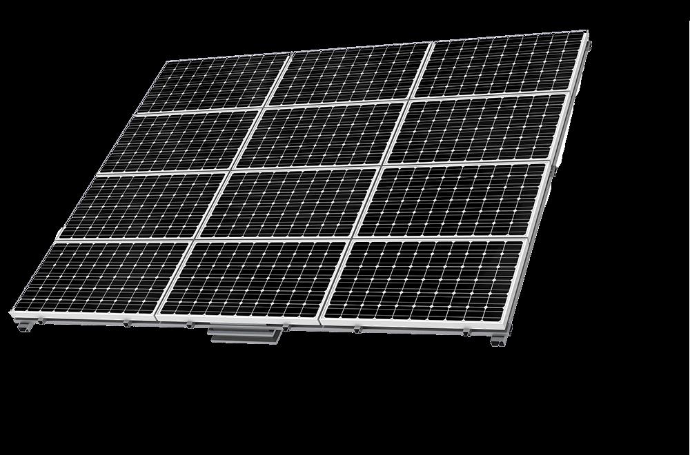 black solar pv panel